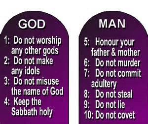 God- man commandments