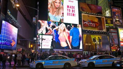 model billboard