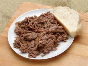 plate of beef